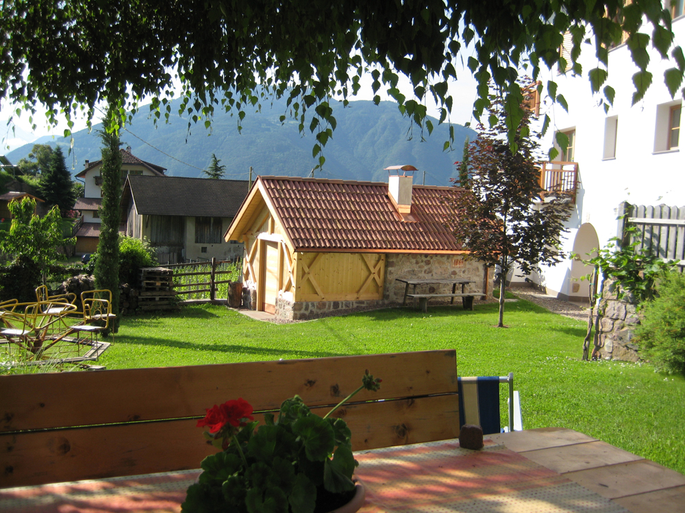 Unser Gartenhaus zum Verwahren Ihrer Fahrräder